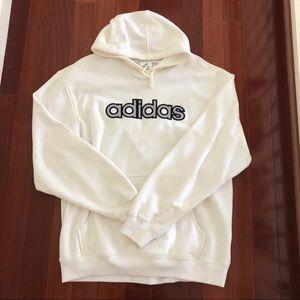 Men's Size L Hooded Adidas Sweatshirt